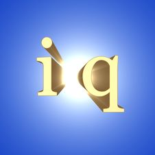 Free IQ-sign Royalty Free Stock Image - 17922516