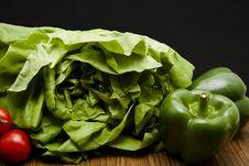 Free Head Lettuce Royalty Free Stock Image - 17923306