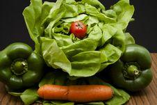 Free Head Lettuce Stock Photos - 17923573