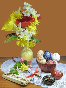 Free Easter Still Life Royalty Free Stock Photography - 17923847