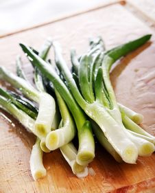 Free Fresh Green Onion Royalty Free Stock Image - 17923876
