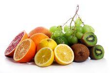 Free Fresh Fruits Isolated Royalty Free Stock Image - 17923886