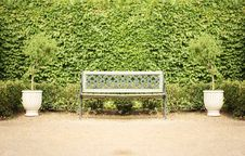 Free Bench In Park Stock Photo - 17924640