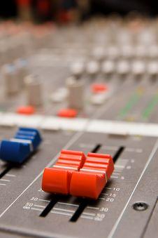 Free Studio Sound Mixer Details Stock Photos - 17925473