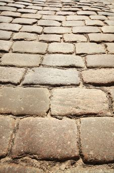 Free Cobbled Road Stock Image - 17926881