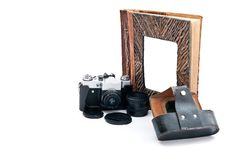 Free Camera And Album Royalty Free Stock Photos - 17928128