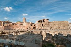 Free View At The Trajan S Forum Royalty Free Stock Photography - 17928687