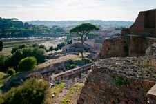 Free Domus Augustana And Circus Maximus Royalty Free Stock Photography - 17928717
