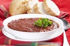 Free Tomato Soup Royalty Free Stock Photos - 17928768