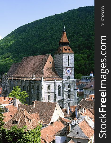 Black Church from Brasov Romania