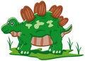 Free Baby Stegosaurus Royalty Free Stock Image - 17938166