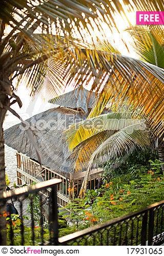 Free Hut On The Beach Saint Maarten Royalty Free Stock Photo - 17931065