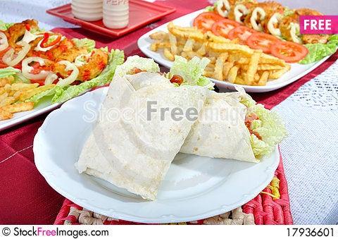 Free Diet Surimi As Kebab Stock Image - 17936601