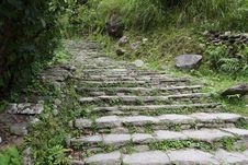 Free Stone Stairs Royalty Free Stock Photo - 17930515