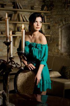 Free Beautiful Brunette Woman Stock Image - 17930781