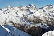 Free Beautiful Winter Mountains. European Alps Stock Image - 17930791