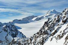 Free Beautiful Winter Mountains. Wildspitze. Stock Photography - 17931002