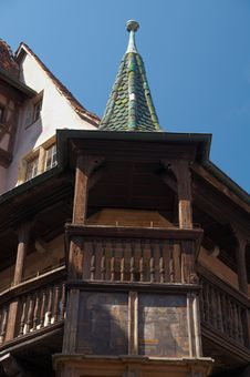 Free Pfister House, Alsace Royalty Free Stock Image - 17931486