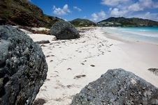 Free Orient Bay St. Martin Stock Images - 17931694