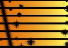 Free Landscape Orange Graphic Strips Stock Photos - 17932003