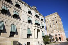 Free Historic Buildings In Downtown Pensacola Royalty Free Stock Images - 17932509
