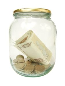 Free Moeny In The Jar Stock Photography - 17932602