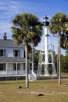 Free Cape San Blas Lighthouse Stock Photo - 17932690