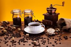 Free Aroma Coffee Royalty Free Stock Photo - 17933095