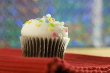 Free Colorful Chocolate Cupcake Stock Photos - 17933683