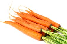 Free Vegetablets- Fresh Carrots Stock Photo - 17934660
