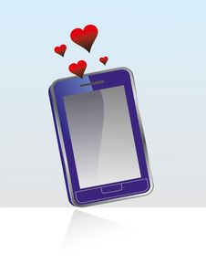 Vector Smart Phone Stock Photos