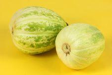 Free Two Melon Royalty Free Stock Photos - 17935998