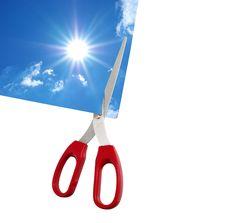 Free Scissors Stock Image - 17936471