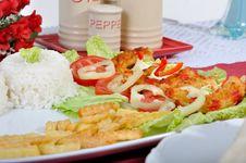 Diet Surimi Stock Images