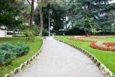Park Of Saint James, Opatija, Croatia Stock Images