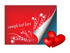 Free Paper With Hearts Royalty Free Stock Images - 17939739