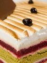 Free Cake Pistachio, Strawberries And Cream Stock Images - 17940704