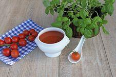 Free Tomato Soup Royalty Free Stock Photos - 17940418