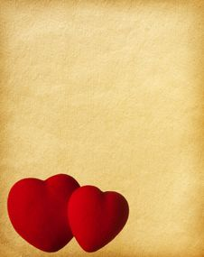 Free Two Hearts Stock Photo - 17940540