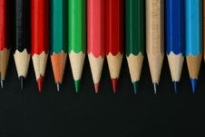 Free Pencil Background Royalty Free Stock Photos - 17940898