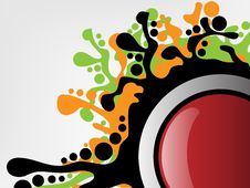 Free Splash Button Background Stock Images - 17940964