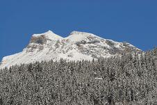 Free Mountain Peak Royalty Free Stock Photo - 17941035