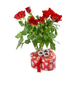 Free Gift For St.Valentine S Day Royalty Free Stock Images - 17941269