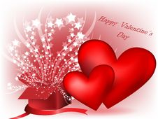 Free Valentine Background Stock Images - 17942124