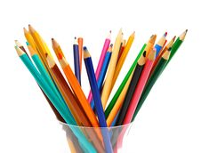 Free Colour Pencils Stock Image - 17942271
