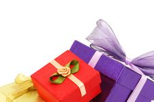Free Gift Boxes Stock Photo - 17942280