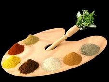Free Herbs And Spices Stock Photography - 17943562