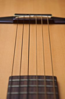 Free Classic Nylon String Guitar Style Stock Image - 17944021