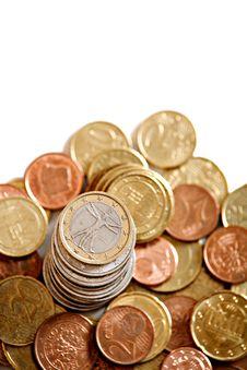 Free European Coins Stock Photo - 17944290