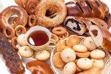 Free Sweet Baking And Tea Stock Photo - 17945070